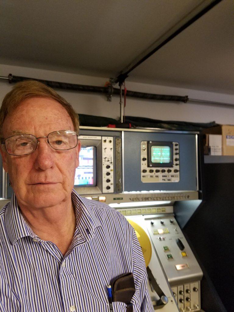 Ken Zin with Zinfurbished RCA TR-70C
