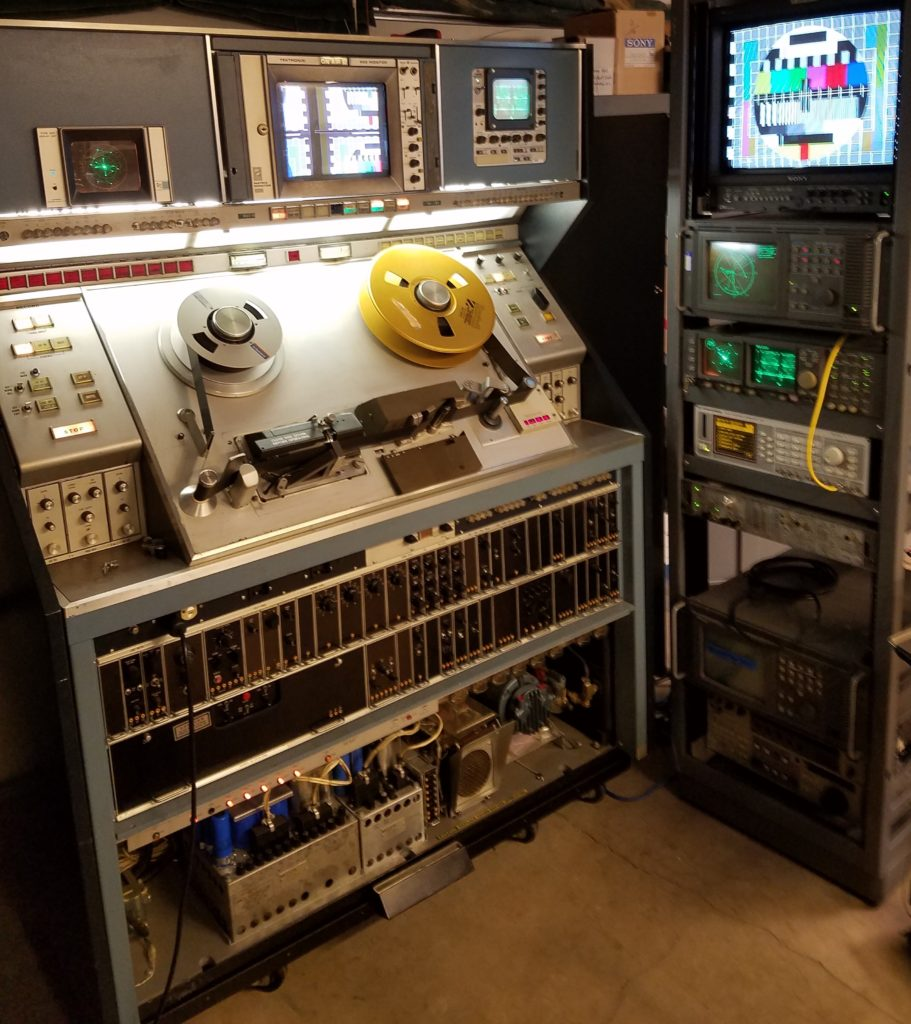 RCA TR-70C Under test using Rohde and Schwarz and Tektronix test gear